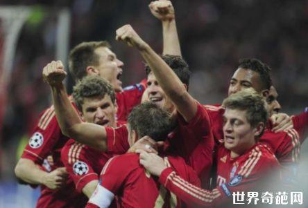 世界足球队排名TOP10 曼联当之无愧的第一名